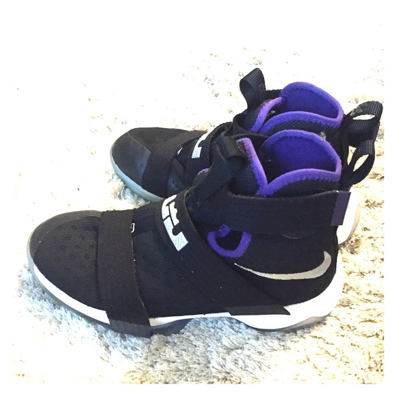 Nike Shoes | Nike Lebron Black High Top